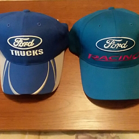 98cb05df Checkered Flag Racing Accessories | Bundle Of 2 Ford Hats | Poshmark